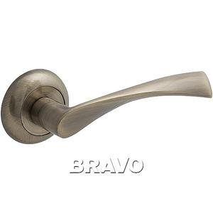 Ручка дверная AB Бронза
