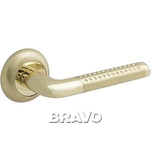 Ручка дверная SG/G МатЗолото/Золото