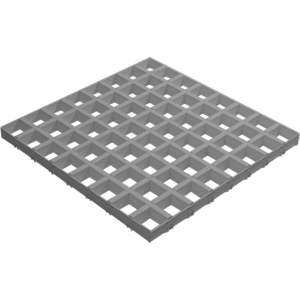 Грильято CL-15 50*50*40 - Металлик