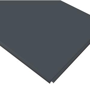Кассетный потолок Cesal ОС Line Т-24 (Т-15) 595х595 Черный матовый AL 0,32мм 36шт/кор. Profi