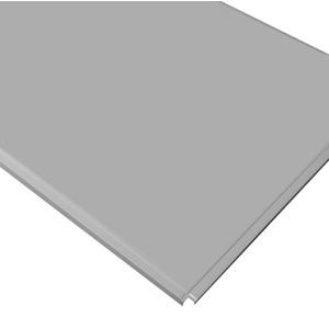 Кассетный потолок Cesal ОС Line Т-24 (Т-15) 595х595 Металлик AL 0,45мм 36шт/кор.